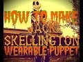 How to Make a Lifesize Jack Skellington Wearable Puppet : Part 1