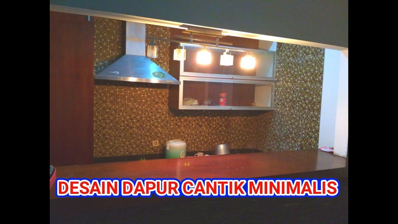 Desain Dapur Cantik Minimalis Ala Dapur Cafe Youtube