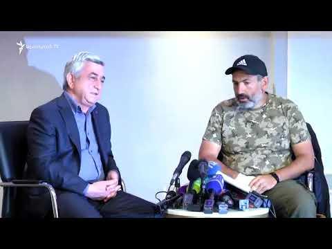 Серж Саргсян отказался продолжать переговоры с оппозицией.Встал и ушел!