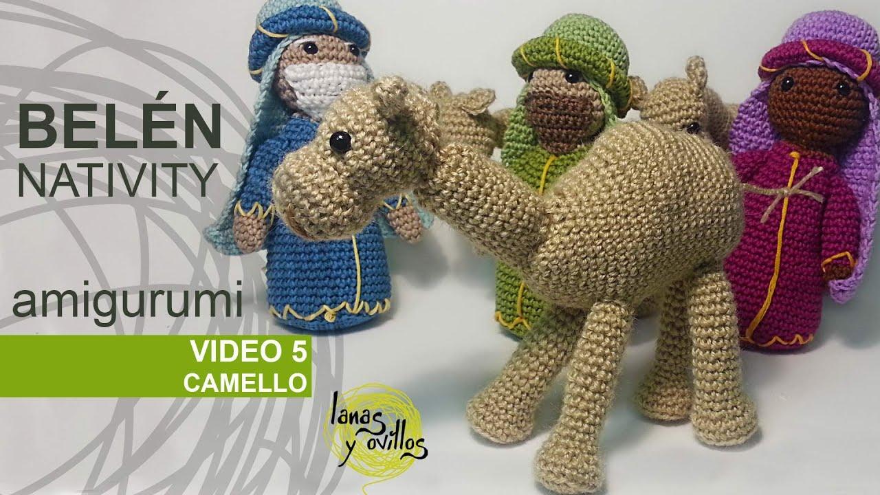 Tutorial Belen Amigurumi Part 5: Camellos (Nativity ...