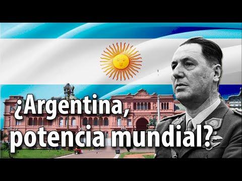 ¿Argentina, potencia mundial?