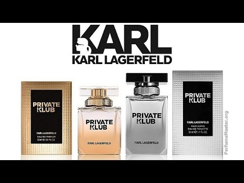 Karl Lagerfeld - Private Klub Fragrance Collection