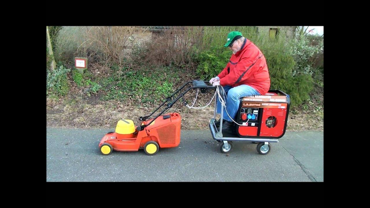Sel Elektrischer Rasenmaher Seniorenmobil
