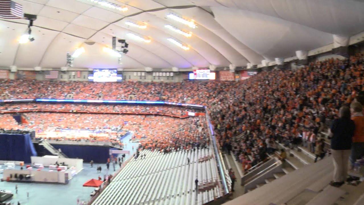 Duke Game Draws Record Crowd Syracuse Men S Basketball