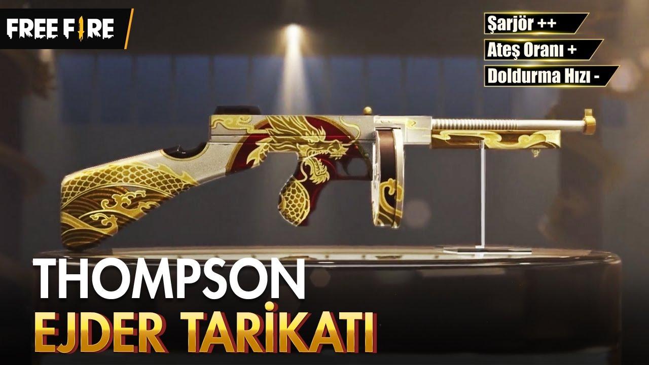 [Yeni Silah Dokusu] Thompson - Ejder Tarikatı l Garena Free Fire