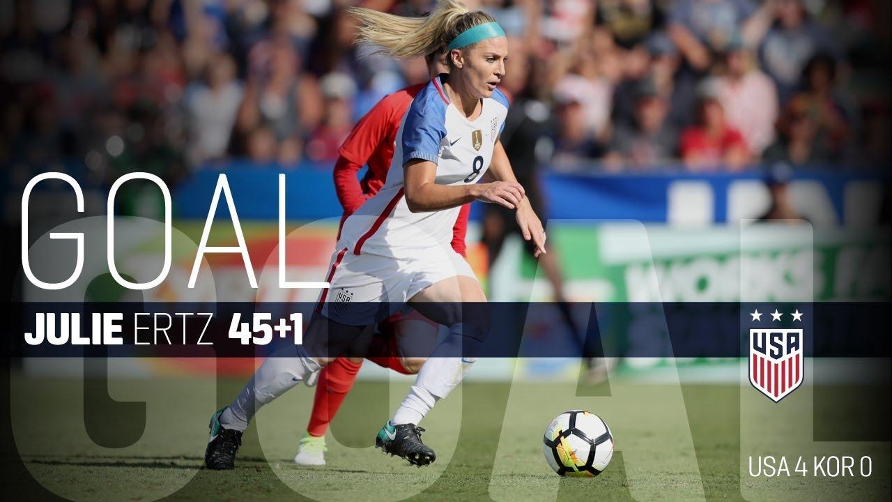 ea7a1b05fa5 WNT vs. Korea Republic  Julie Ertz Goal - Oct. 22