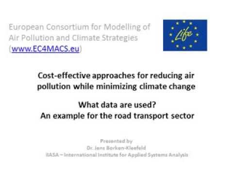 Cost-effective approaches for reducing air pollution while minimizing climate change