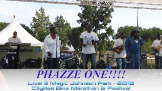 Phazze One Live! Citylites Festival 2013 - Magic Johnson Park