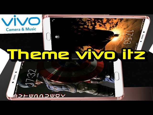 Theme Captain America & Batman itz for vivo phone - Oneplus Thailand