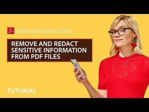 Remove and Redact Sensitive Information from PDF Files