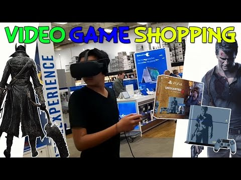 Kyle Finally Gets a Playstation 4 [Video Game Shopping]