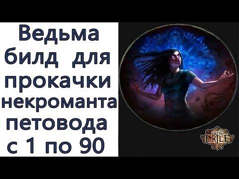 Path of Exile: Ведьма - Некромант  - Стартовый петоводный билд