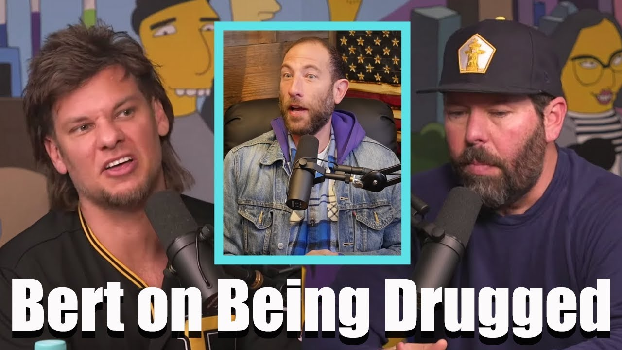 Bert Kreischer On Being Drugged By Ari Shaffir W Theo Von Youtube Wife of comedian bert kreischer and host of the podcast wife of the party. bert kreischer on being drugged by ari shaffir w theo von
