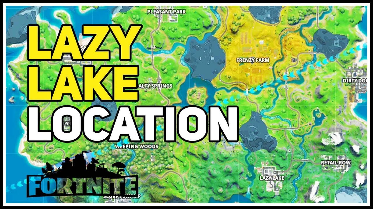 Lazy Lake Named Locaton Fortnite Chapter 2