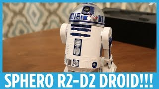 Sphero R2-D2 App-Enabled Droid Hands-on