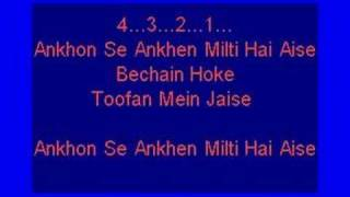 Bollywood Karaoke  - Roop Tera Mastana - Kishore Kumar