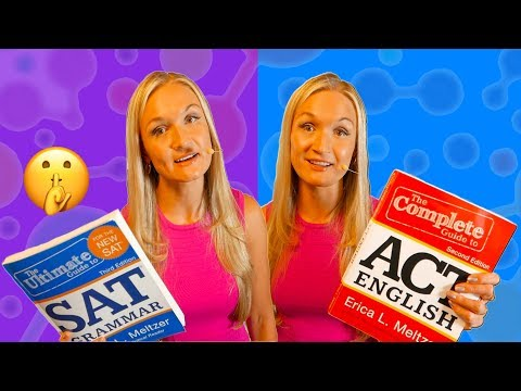 BEST SAT & ACT Test Prep📘📕 For Self Study [2019]