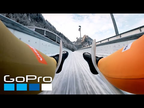 GoPro: Training with the German National Luge Team