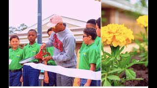 Pharrell Builds A Garden At His Old Elementary School + Cardi B Wants To Fly Out Her Biggest Fans +