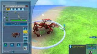 Spore: Galactic Adventures - Creatures in Adventure Editor
