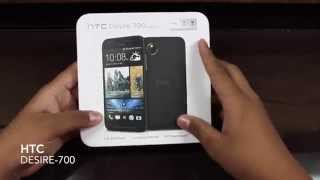 HTC Desire 700 unboxing and overview