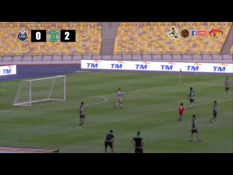 Siaran Langsung Perlawanan Akhir - U12 AMD Malaysia Cougars (MAS) VS Sporting Club De Portugal (POR)
