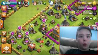 Clash of Clans a day imt he life of me