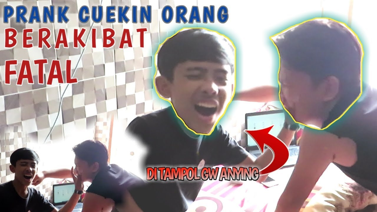 PRANK CUEKIN ORANG!!! | BERAKIBAT FATAL...
