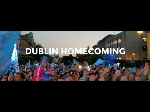 2015 Dublin Footballers Homecoming #Hill16Cam