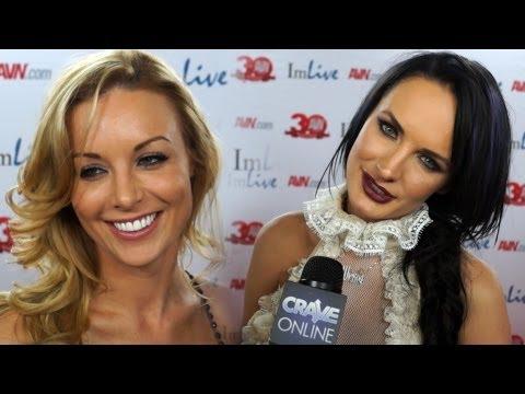 AVN Awards 2013 - Porn Star Red Carpet Interviews (NSFW)