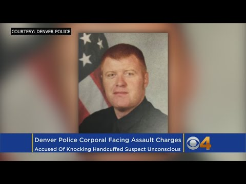 Police Officer Charged With Assault For Allegedly Knocking Out Handcuffed Suspect