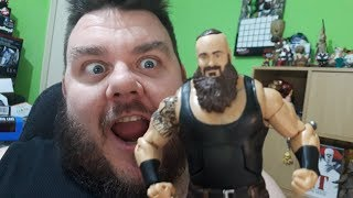 Braun Strowman WWE Elite Series Wrestling Action Figure Unboxing Mattel Toy Review