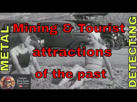 Exploring mining in the past - Metal detect forgotten tourist attractions