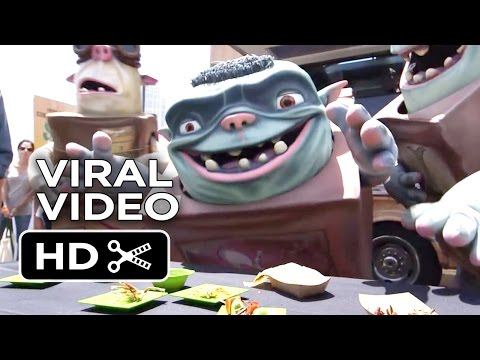 The Boxtrolls VIRAL VIDEO - Comic-Con (2014) - Stop-Motion Animated Movie HD