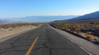 Death Valley on HD Electra Glide