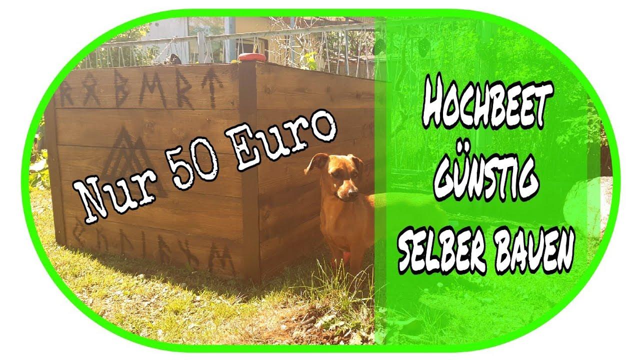 Hochbeet Fur Nur 50 Euro Selber Bauen Garten Diy