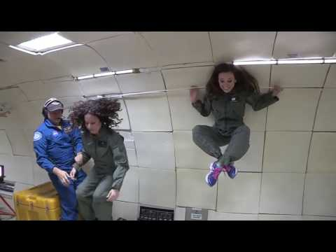 Spinning in Microgravity