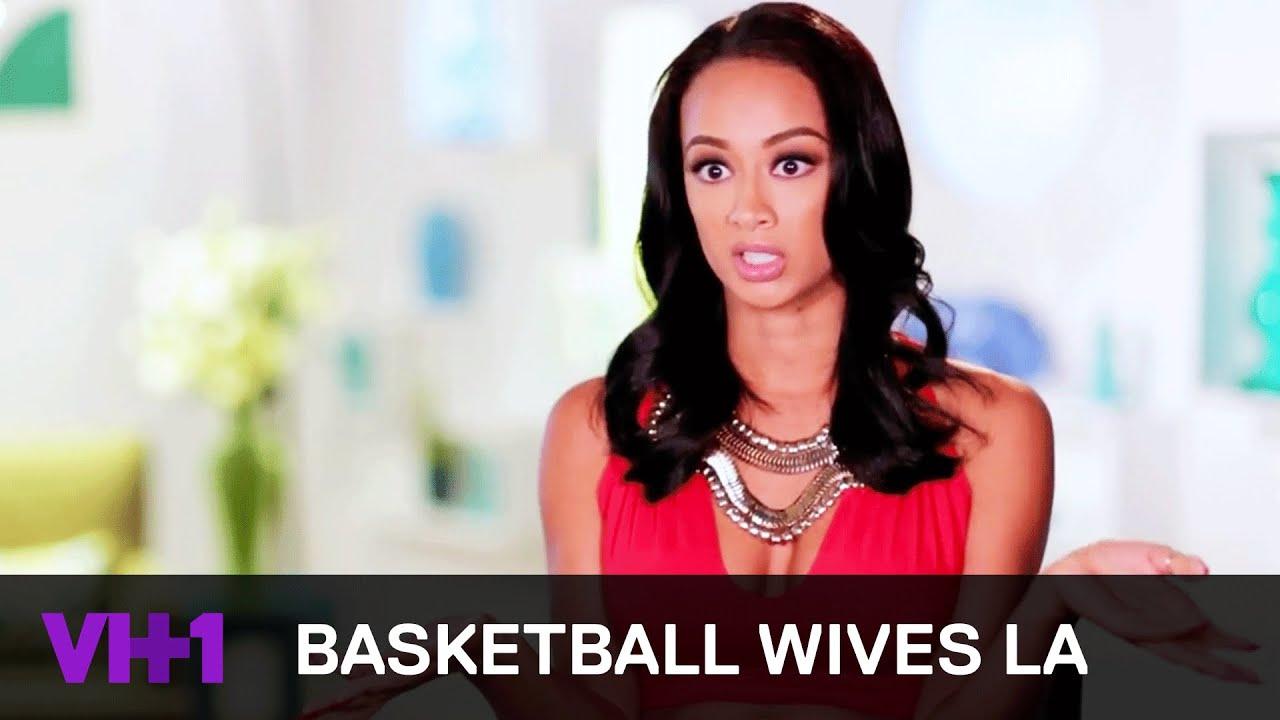 Basketball Wives La Chantel And Draya Go At It Vh1 Youtube