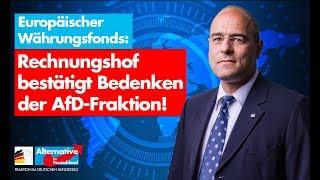 Europäischer Währungsfonds: Rechnungshof bestätigt Bedenken der AfD-Fraktion! - Bundestag