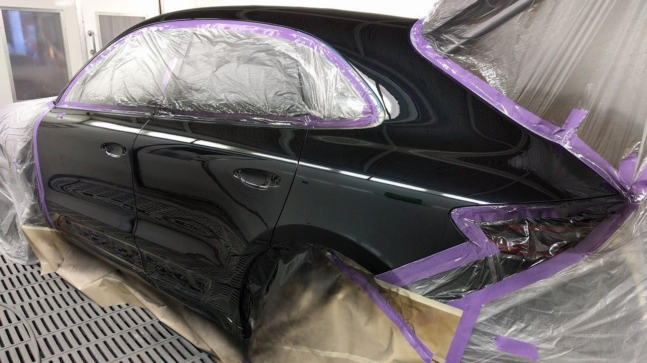Porsche Macan S Spray Painting Youtube