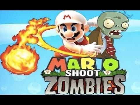 Juegos De Mario Bros Y Zombies Youtube
