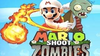 Juegos de Mario Bros y Zombies