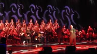 Red Army Choir ; MVD. Director and Conductor ; Gen. Viktor ELISEEV in Ashdod- Israel. Jan. 2017