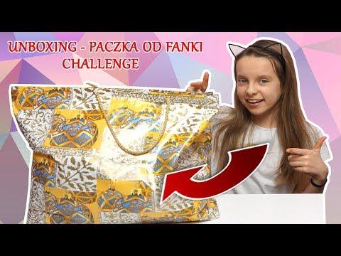 CHALLENGE  😱 PACZKA OD FANKI - UNBOXING - WYZWANIA   Amelie
