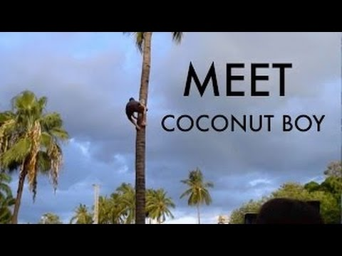 The INVICIBLE Coconut Boy: EXTREME Healing Powers Through Diet I Lifelong Raw Vegan,