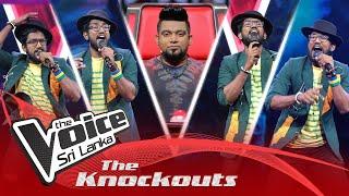 Tharindu Nirmana | Aharenna (ඇහැරෙන්න) | The Knockouts | The Voice Sri Lanka Thumbnail