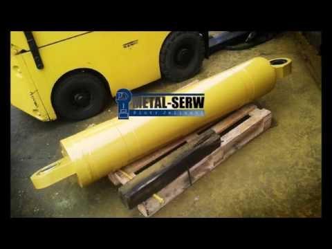 naprawa siłowników hydraulicznych METAL-SERW