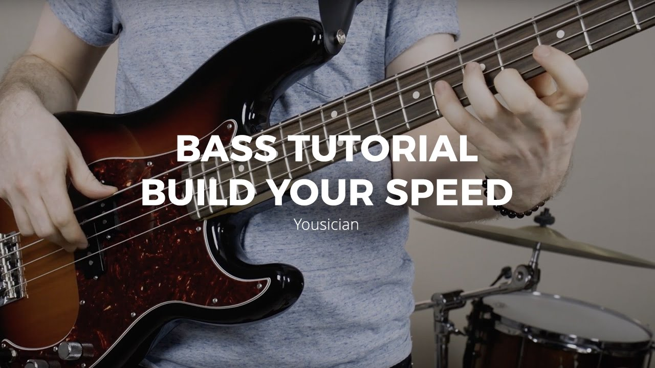 bass tutorial techniques to build speed youtube. Black Bedroom Furniture Sets. Home Design Ideas