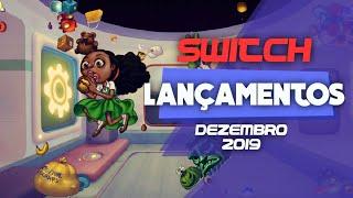 LANÇAMENTOS DE DEZEMBRO PARA O NINTENDO SWITCH #lançamentos #dezembro #switch