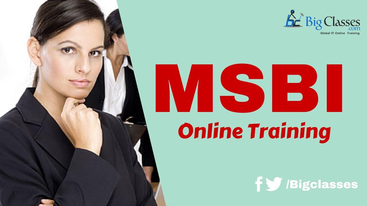 MSBI SSRS Online Training - MSBI SSRS Tutorial for Beginners - BigClasses